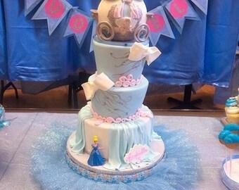 Cinderella Tutu For a Cake Stand