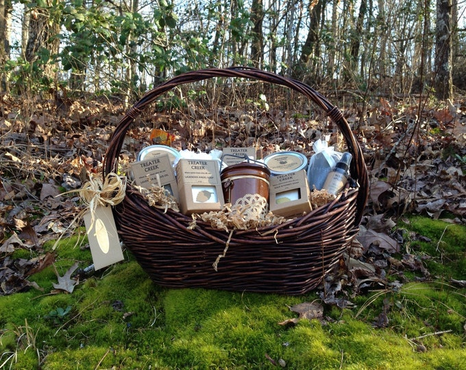 Large Relaxation Gift Basket