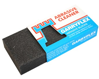 Garryflex Block 120 Grit Abrasive Cleaner. (M0291) Free UK Postage.