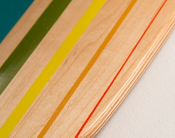 Color Theory Pintail Longboard Skateboard