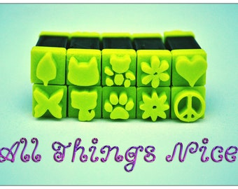 Stampies! All Things Nice - Polymerclay Tool Set / Arts and Crafts Tool Set