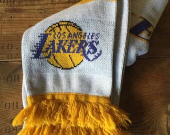 Vintage LA Lakers Scarf