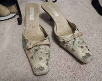 Clearance! Nice OLIVIA ROSE TAL New York Mule Shoes Size 10
