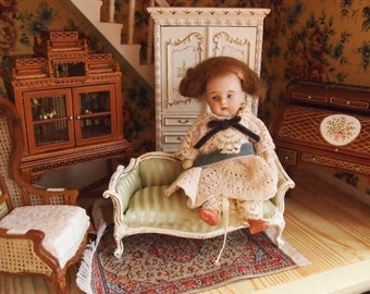 NEW YEAR SALES!!!!!!!Timbo country style chair perfect for your 1:12 dollhouse