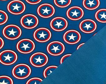 Softshell star circles blue