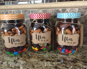 Iftar in a Jar-Ramadan and Eid Gift for Muslims