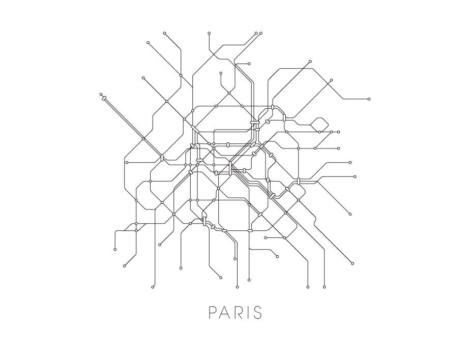 Image Result For Paris Subway System Map