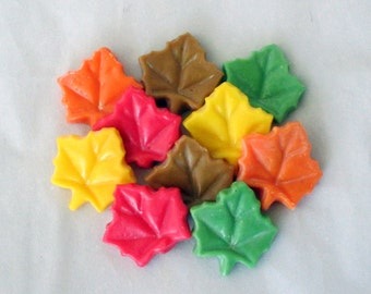 Fall tarts, Autumn Harvest, soy tarts, candle tarts, wax tarts, soy candle, tart melts, leaf tarts, flameless candle, candle melters
