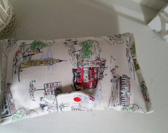 Nappy Wallet made in Billy Goes to Town Fabric