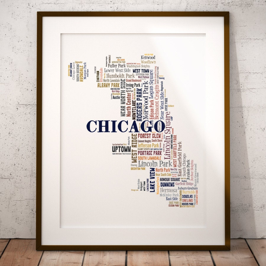 Map Of Chicago You Can See A Map Of Many Places On The List On - Chicago il map neighborhoods