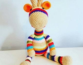 Rainbow the giraffe