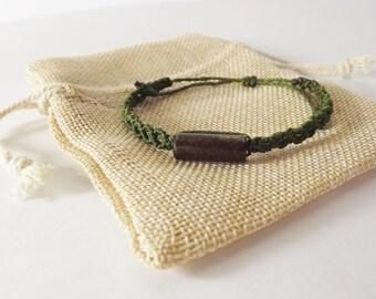 Handmade Bracelet With Wood