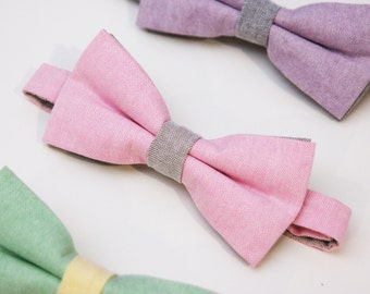 Mens bow tie - Pink