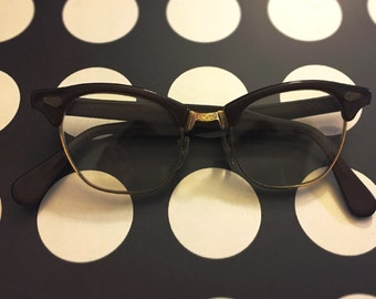 True Vintage 1950's Cateye Glasses Made in USA