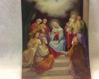 Italian prayer card | Etsy