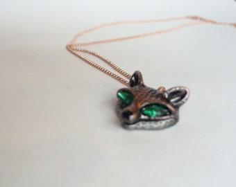 Foxy Brass Necklace