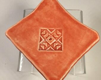 Support Spindle Dish/Tea Bag Holder