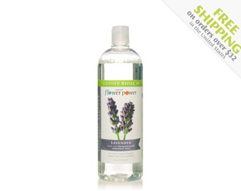 Natural Cleaner (Lavender) REFILL - Natural Cleaning Products - Natural Cleaning - Plant Based Cleaning - Essential Oils