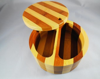 Wooden, secret box.