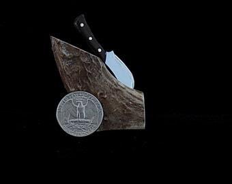 Ebony handled miniature knife