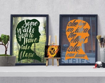 2 Hunger Games Quotes [ Instant download ]