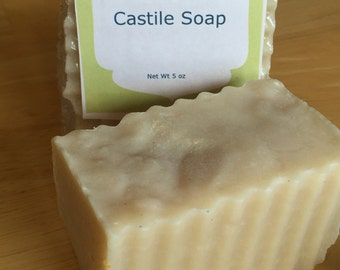 Castille soap with exulyptus