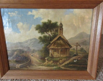 ANTIQUE PAINTING by Unknown Artist