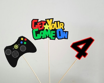 Video Game Centerpieces, Gaming Centerpieces, Video Game Centerpiece, Gaming Centerpieces
