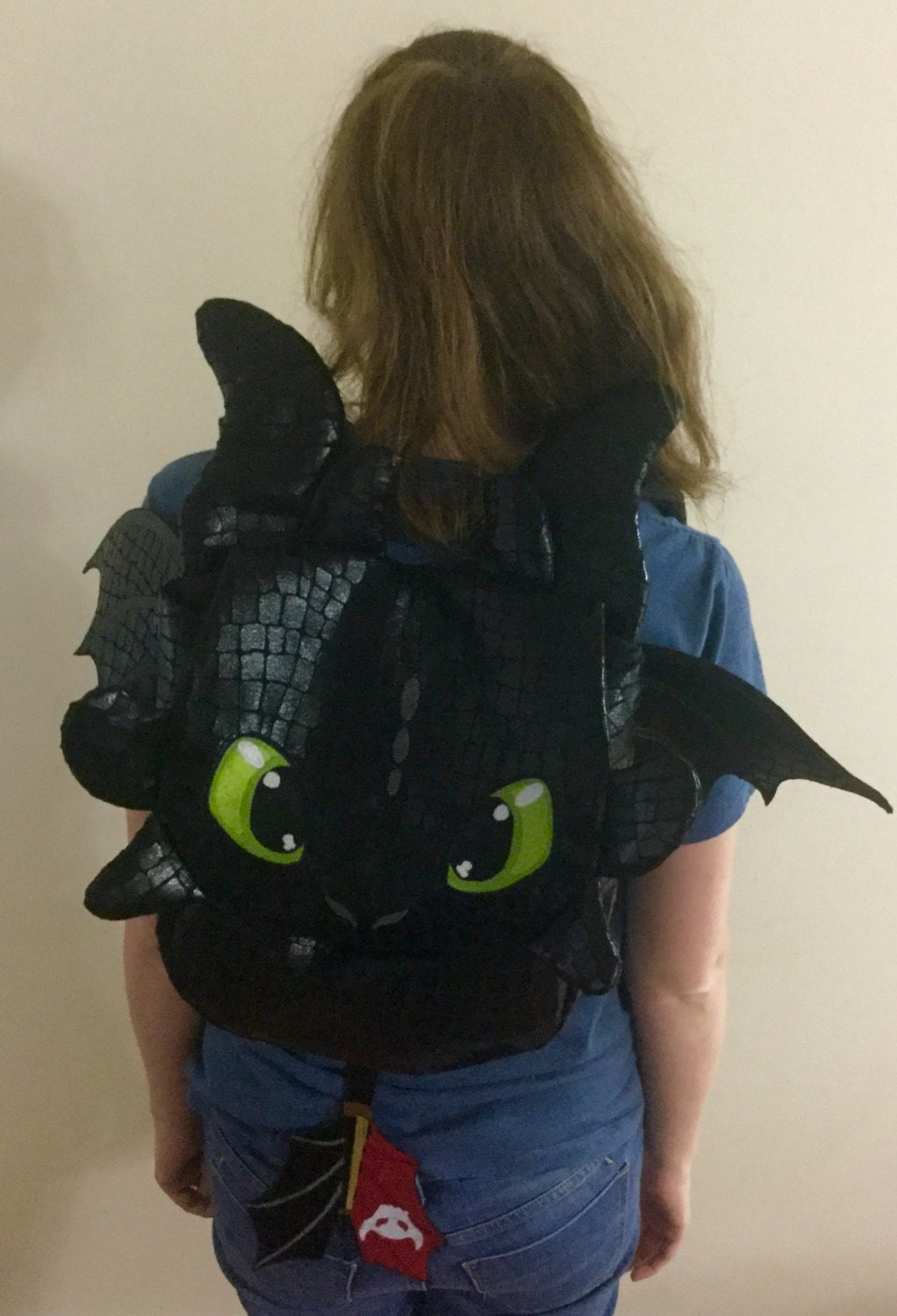 How To Train Your Dragon Toothless Backpack Bag Nap Sack With