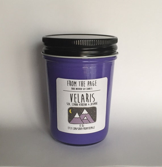 Velaris Soy Candle - 8 oz *Candle of the Month*