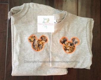 Camo Mickey Head Shirt