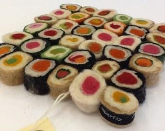 Felt Sushi Coaster
