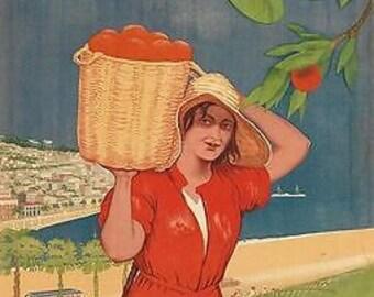Vintage Soviet Union Batumi Georgia Tourism Poster A3 Print