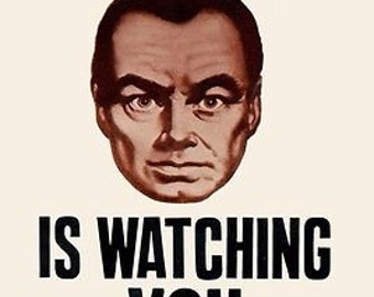 Big Brother Is Watching You Iconic George Orwells' 1984 A3 Film Poster Reprint