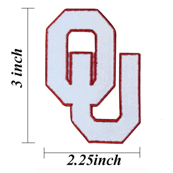 Oklahoma sooners embroidered iron patches by noieasyshop