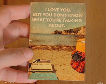 Moonrise Kingdom  Wes Anderson - ACEO ATC Mini Print Card - Pick your Size and style