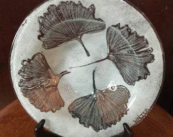 Edwin D. Walter Kiln-formed Glass Bowl