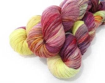 Sock Yarn Superwash Merino/Nylon 4ply Handdyed Yarn: PHANTOM