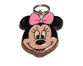 Minnie Mouse Keychain, Disney Keychain, Key Chain,
