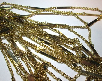 3 Ft Vintage Brass Chain