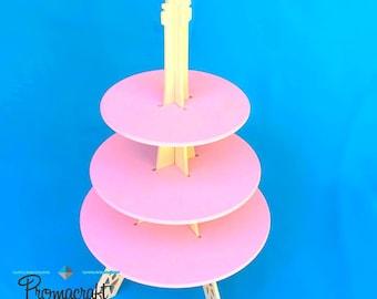 Eiffel tower cupcake stand 3 tier