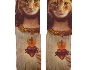 Holy Cat Socks