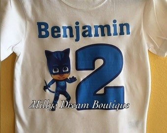 Catboy PJMask Personalized T-shirt