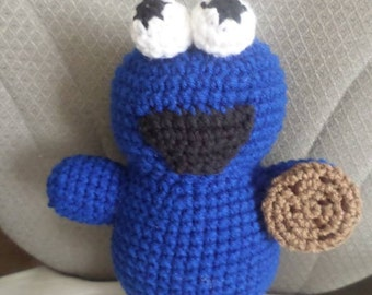 Cookie Monster Stuffed Plushie Toy