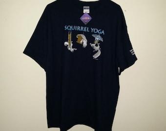 Squirrel Yoga T shirt
