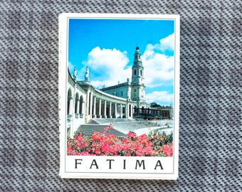 Fatima 24 Photos Booklet - Miniature Postcards - Souvenir from Pilgrimage Place Portugal -  Paper Ephemera