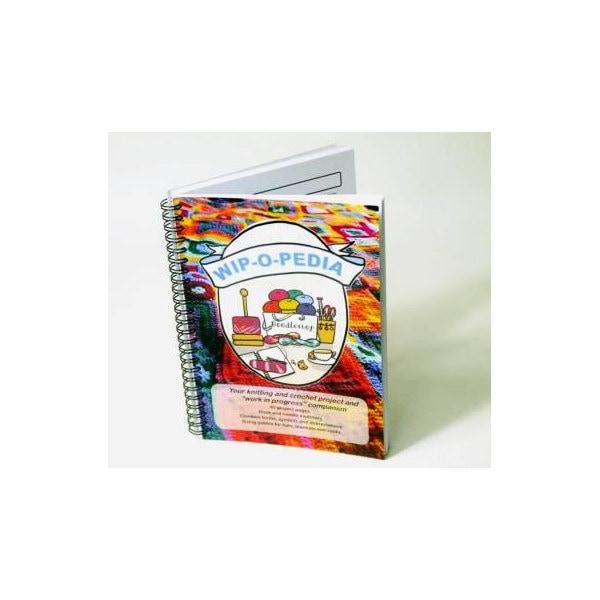 Knitting Journal Pdf : Wip o pedia knitting and crochet project book