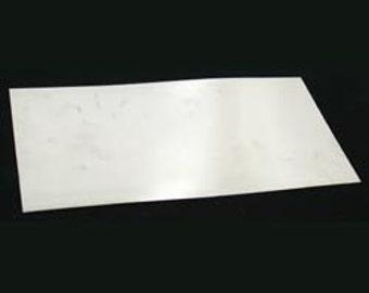 Flat Sterling Silver Dead Soft Sheet 24ga (0.51mm)  (SS24)