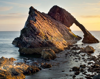 BowFiddle Rock, Port Knockie