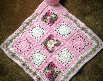 Piggy Lovey Blanket